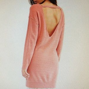 Free People Hourglass Cashmere Tunic Size M